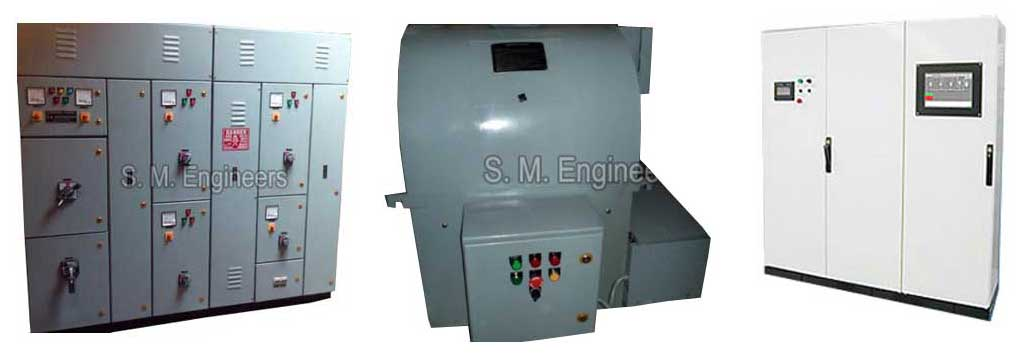 Electrical Control Panels,Auto Transformer Starters, Capacitor ...
